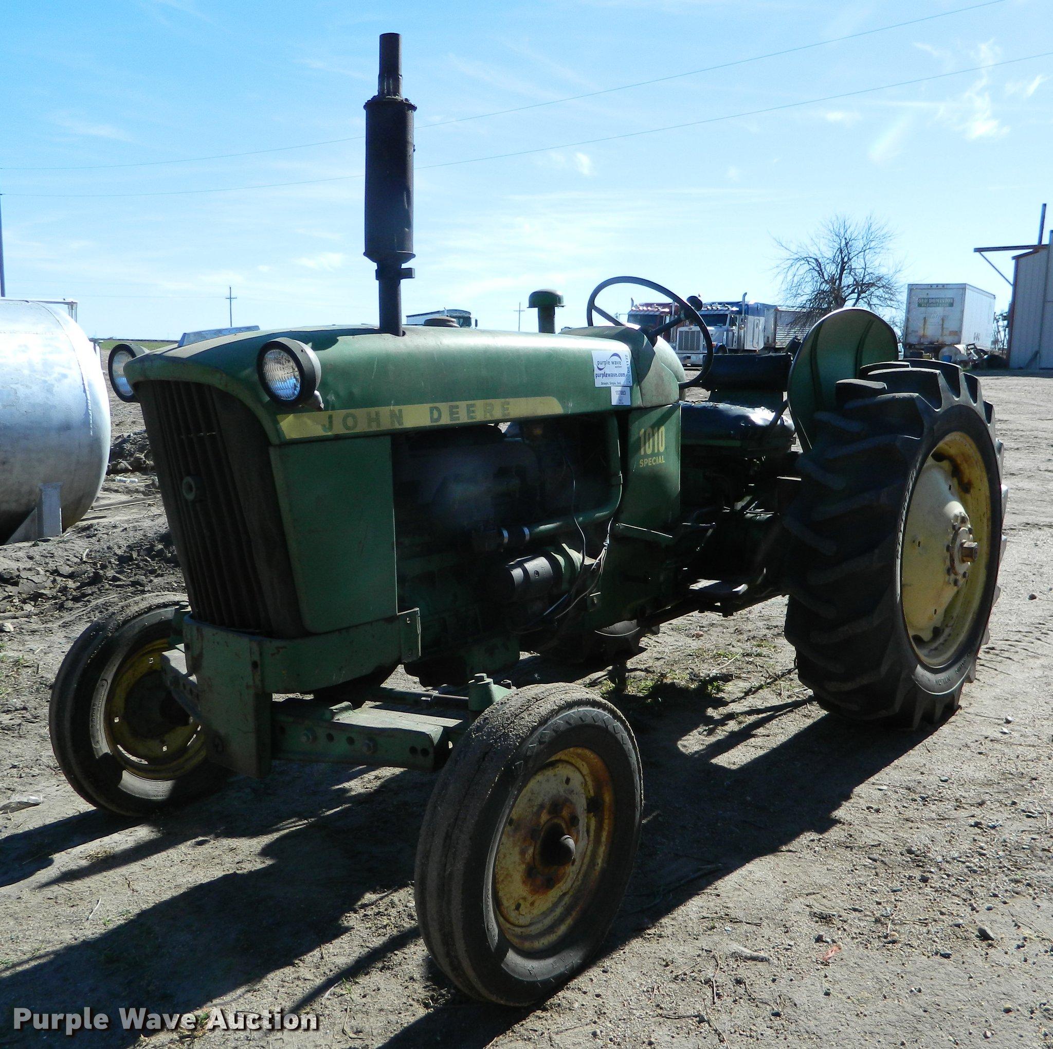 John Deere 1010 Tractor Diagram Wiring Item Sold December 2048x2039