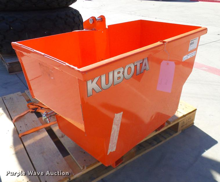 Kubota B8160 Ballast Box Item Az9256 Sold December 27