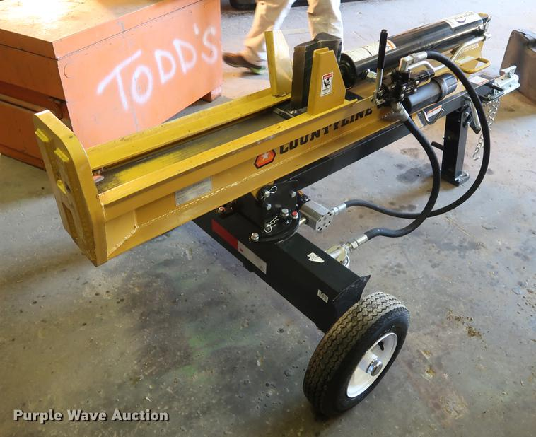 County-line log splitter | Item DA8597 | SOLD! December 27 V