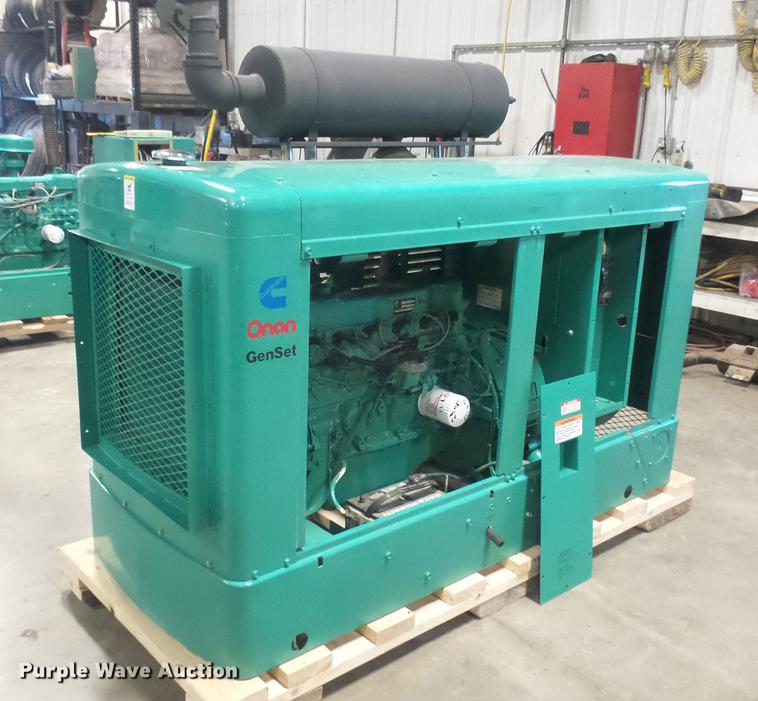 Cummins/Onan 35EK generator with transfer switch   Item DX99