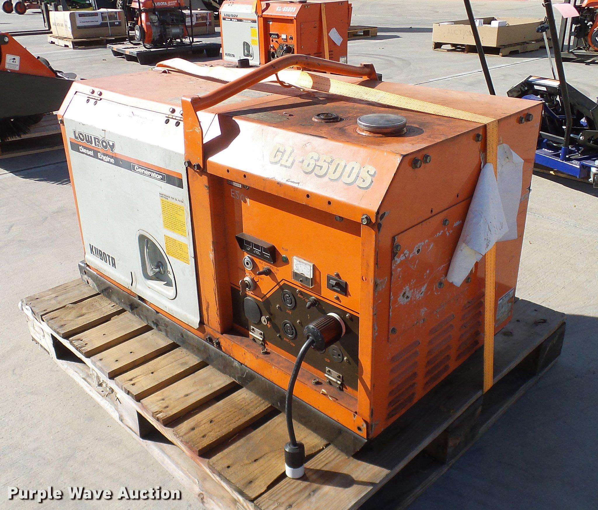 kubota gl6500s generator item az9296 sold! december 27 v kubota cooling system diagram az9296 image for item az9296 kubota gl6500s generator