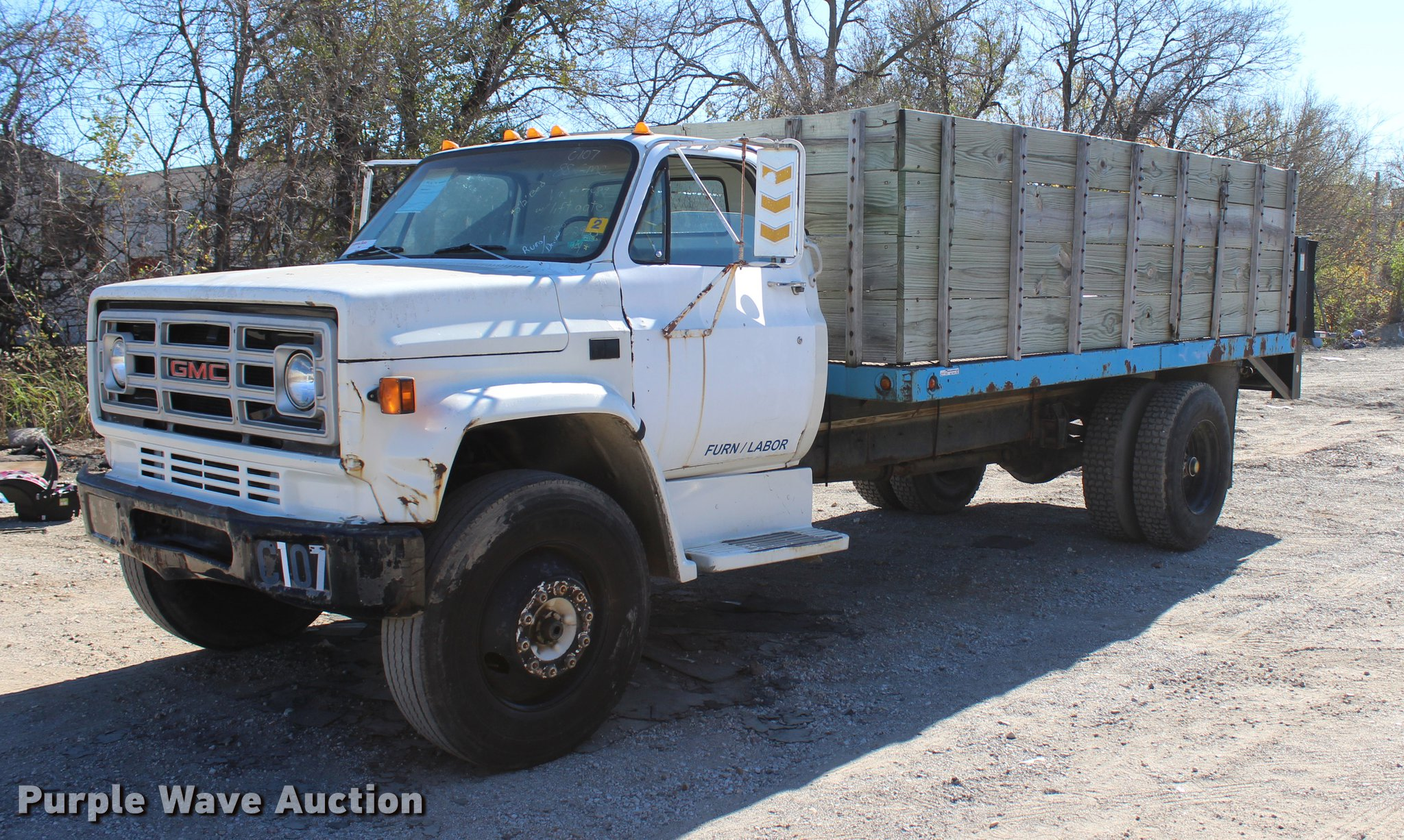 parting or sale out partial co hudson topkick cabs salvage for damaged gmc cab truck