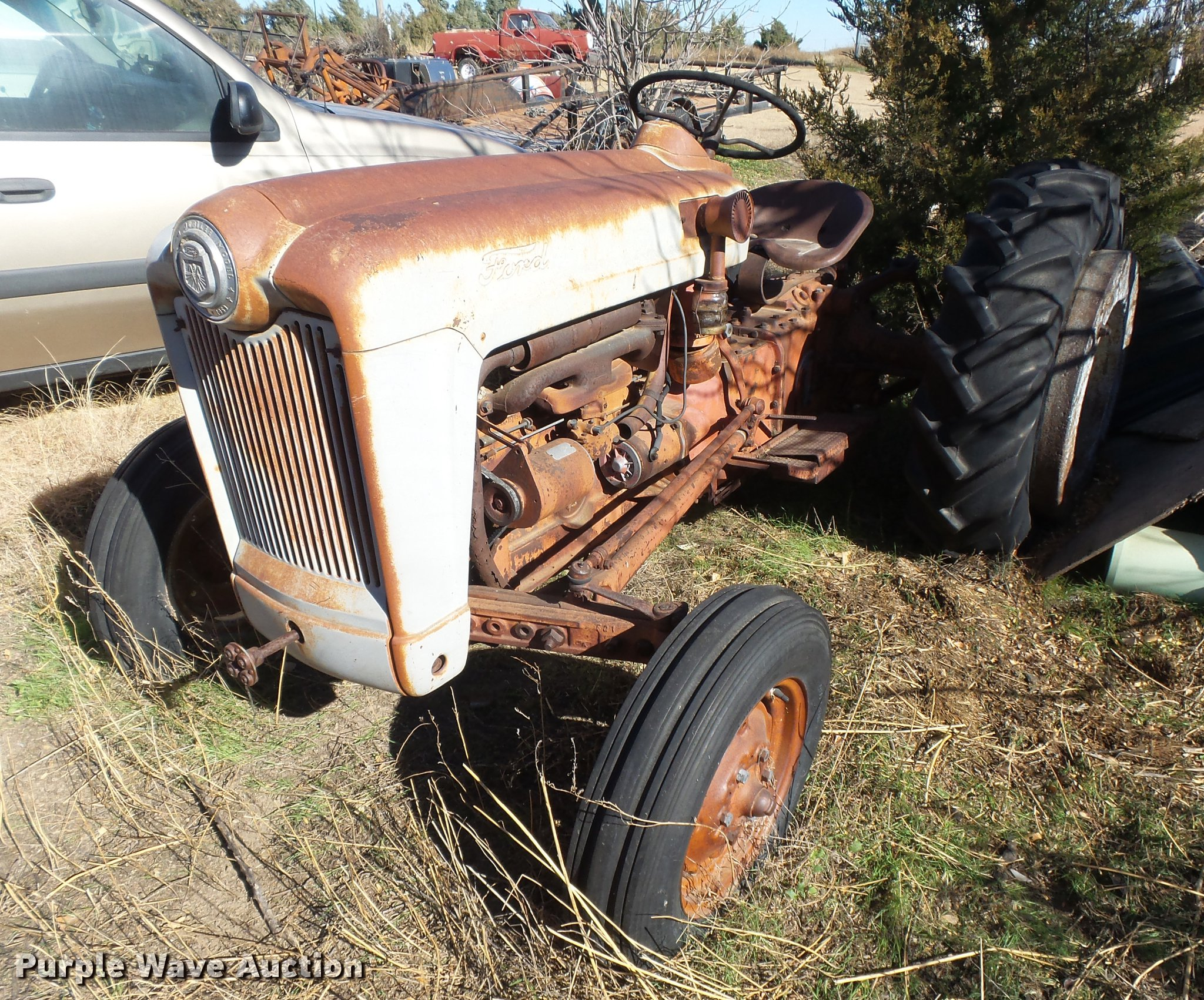 1953 Ford Golden Jubilee Tractor In Holcomb Ks Item Dc3750 Sold