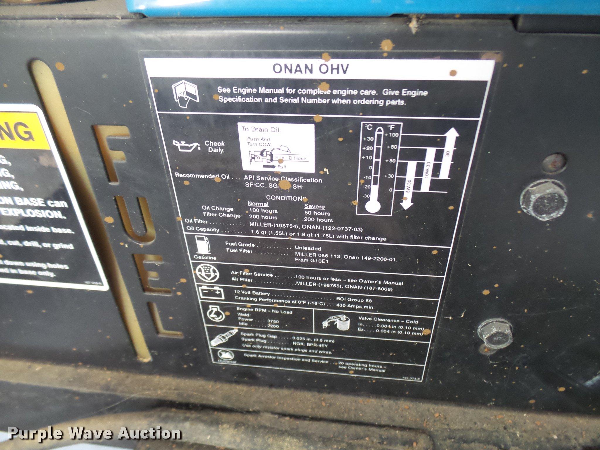 Miller Bobcat 250NT welder/generator   Item DP9604   SOLD! D