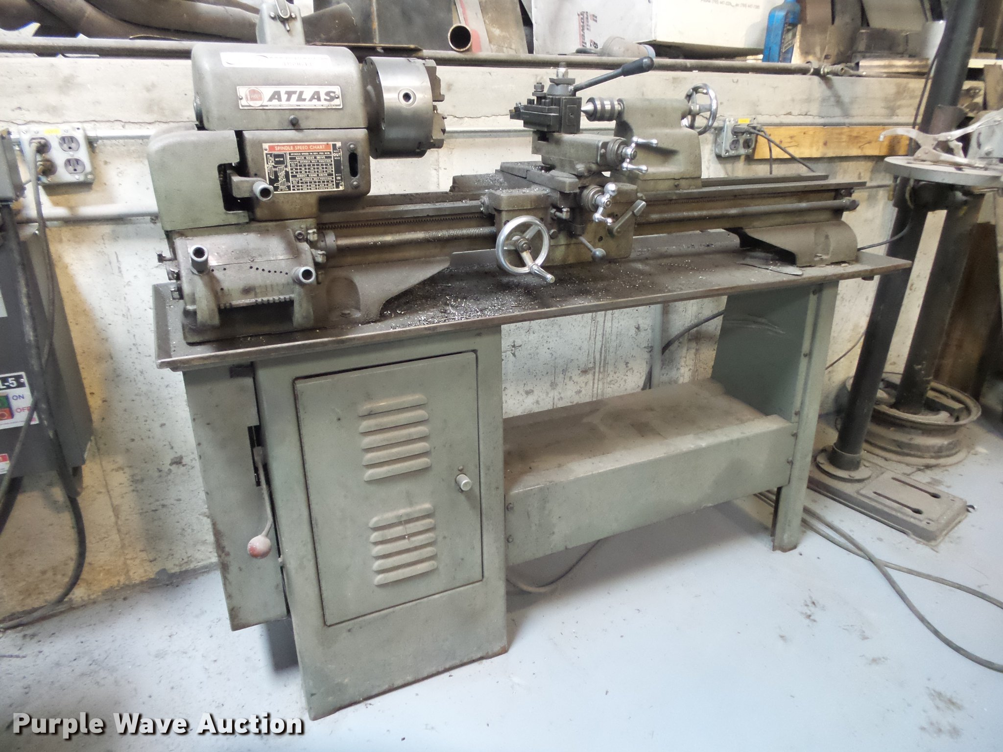 Atlas 3996 lathe | Item DS9643 | SOLD! December 27 Vehicles