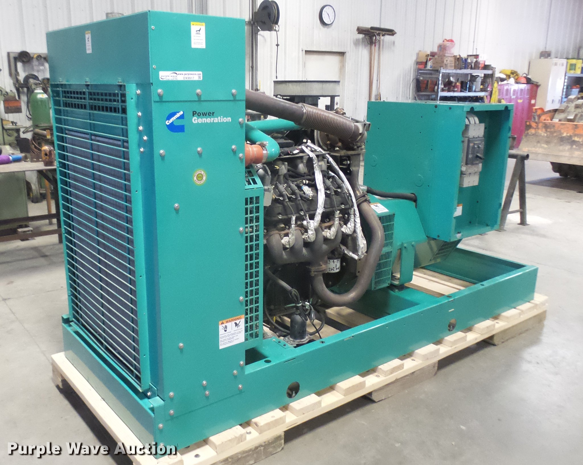 Cummins an 150 GGLB generator Item DX9917