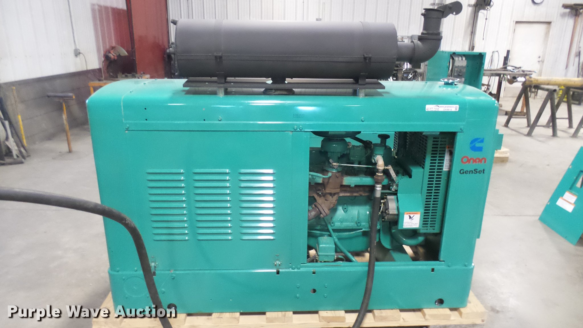 Cummins an 35EK generator with transfer switch