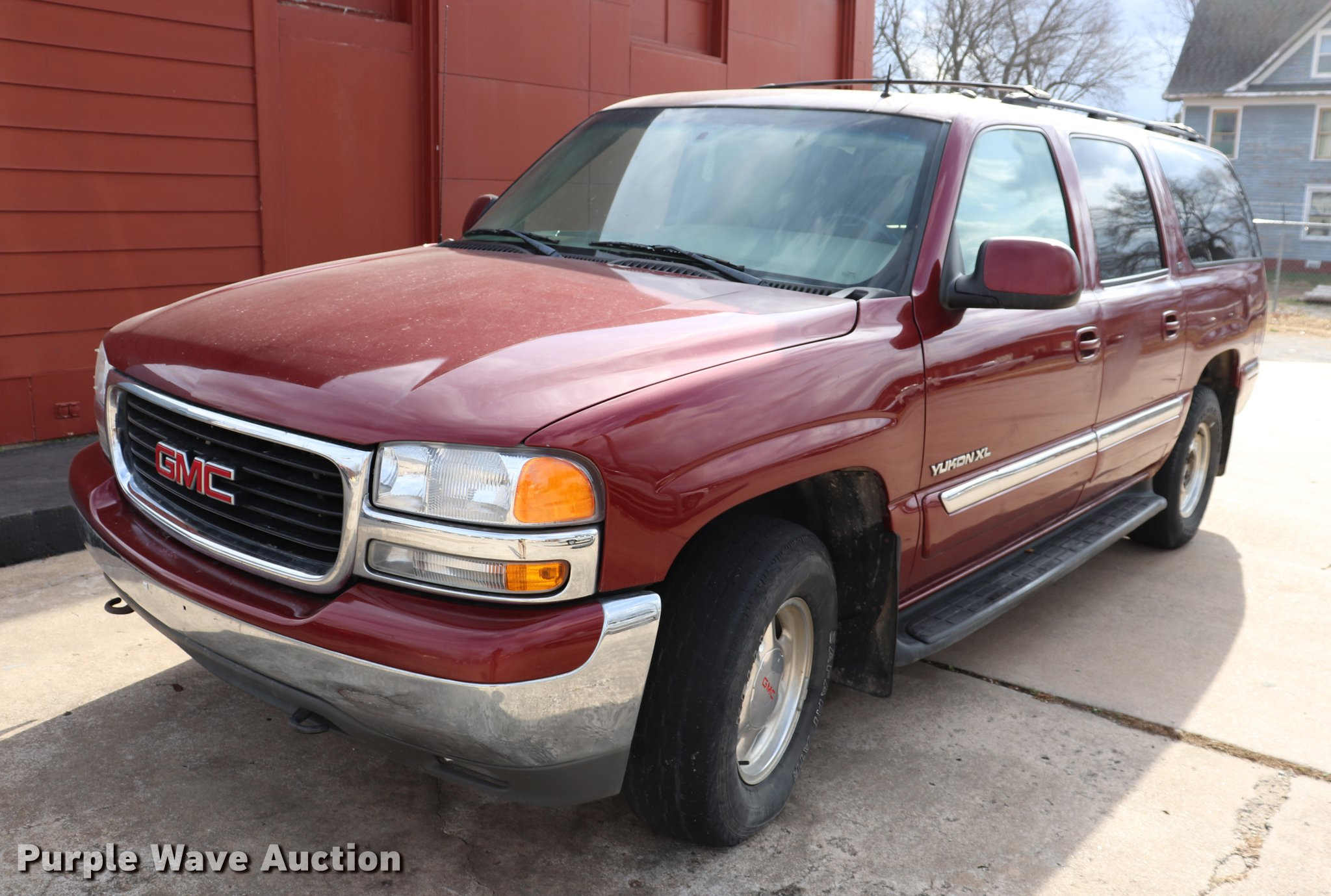 2002 Gmc Yukon Xl In Fredonia Ks Item Ec9279 Sold Purple Wave