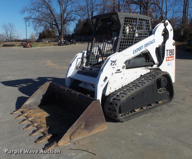 2008 Bobcat T190 Skid Steer Item Db6261 Sold December 2