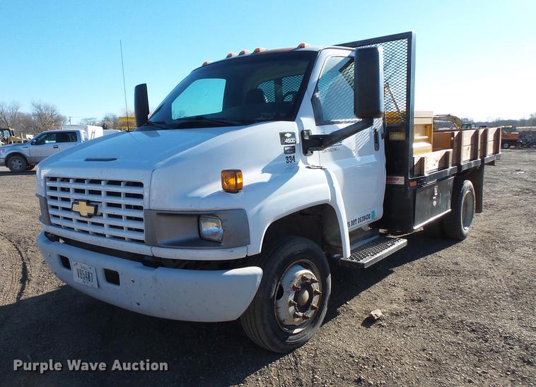 2006 chevrolet c4500 flatbed truck item dc1045 sold dec Chevrolet Ambulance dc1045 image for item dc1045 2006 chevrolet c4500 flatbed truck