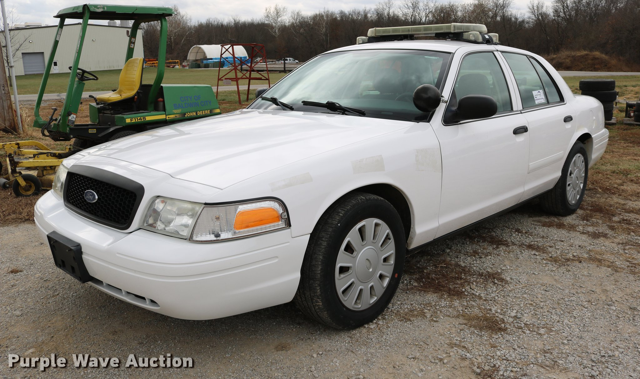 2008 Ford Crown Victoria Police Interceptor | Item DC3570 | ...