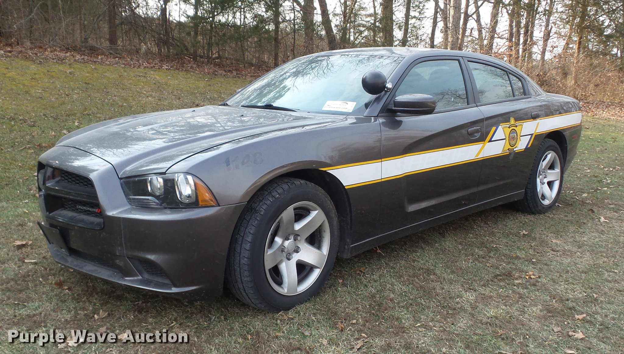 2013 Dodge Charger Police Item Dc7476 Sold January 9 Go