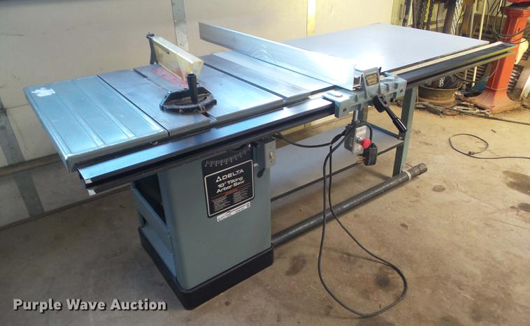 Delta table saw item dz9155 sold january 10 vehicles an dz9155 image for item dz9155 delta table saw greentooth Choice Image