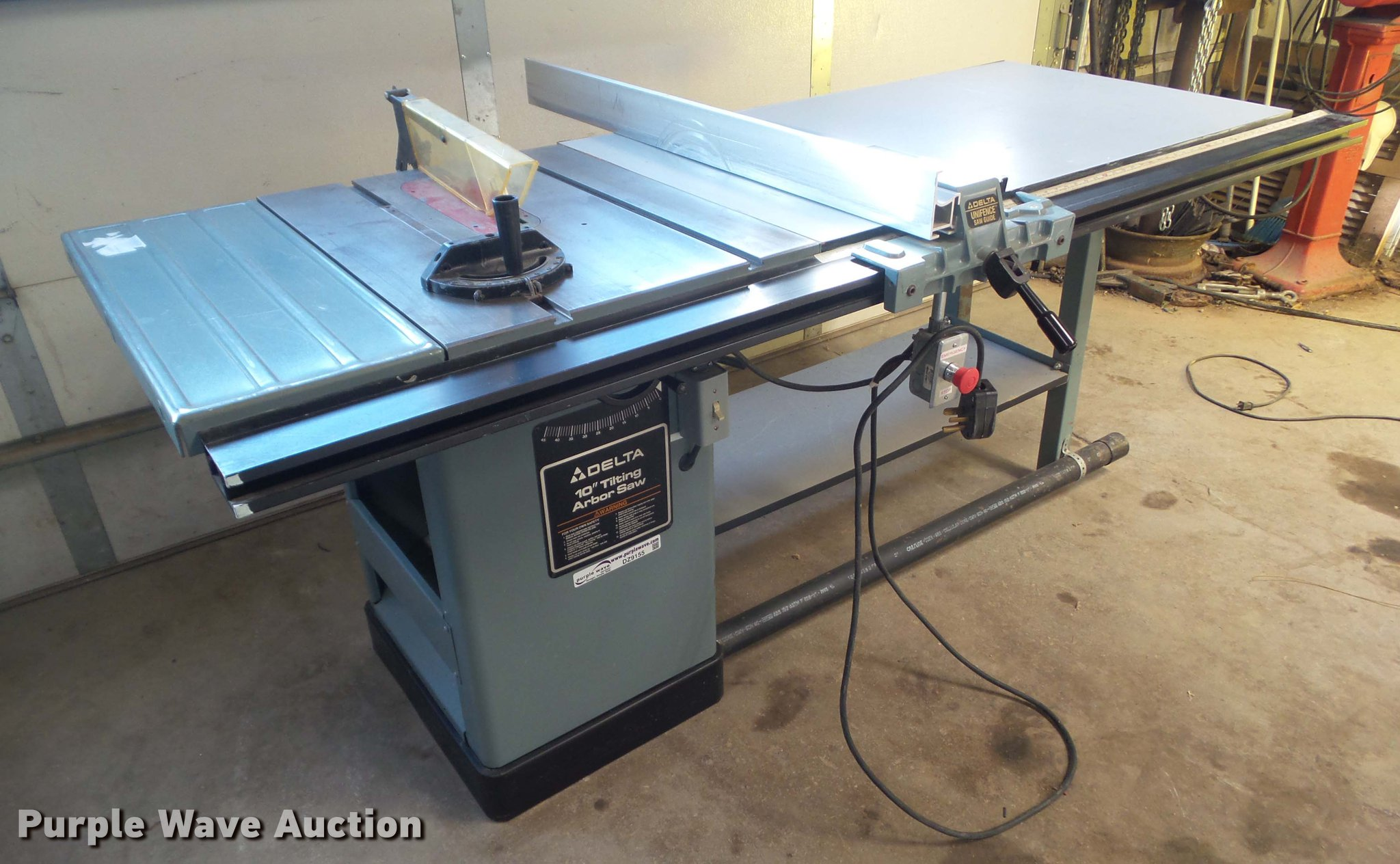 Delta table saw item dz9155 sold january 10 vehicles an dz9155 image for item dz9155 delta table saw greentooth Images