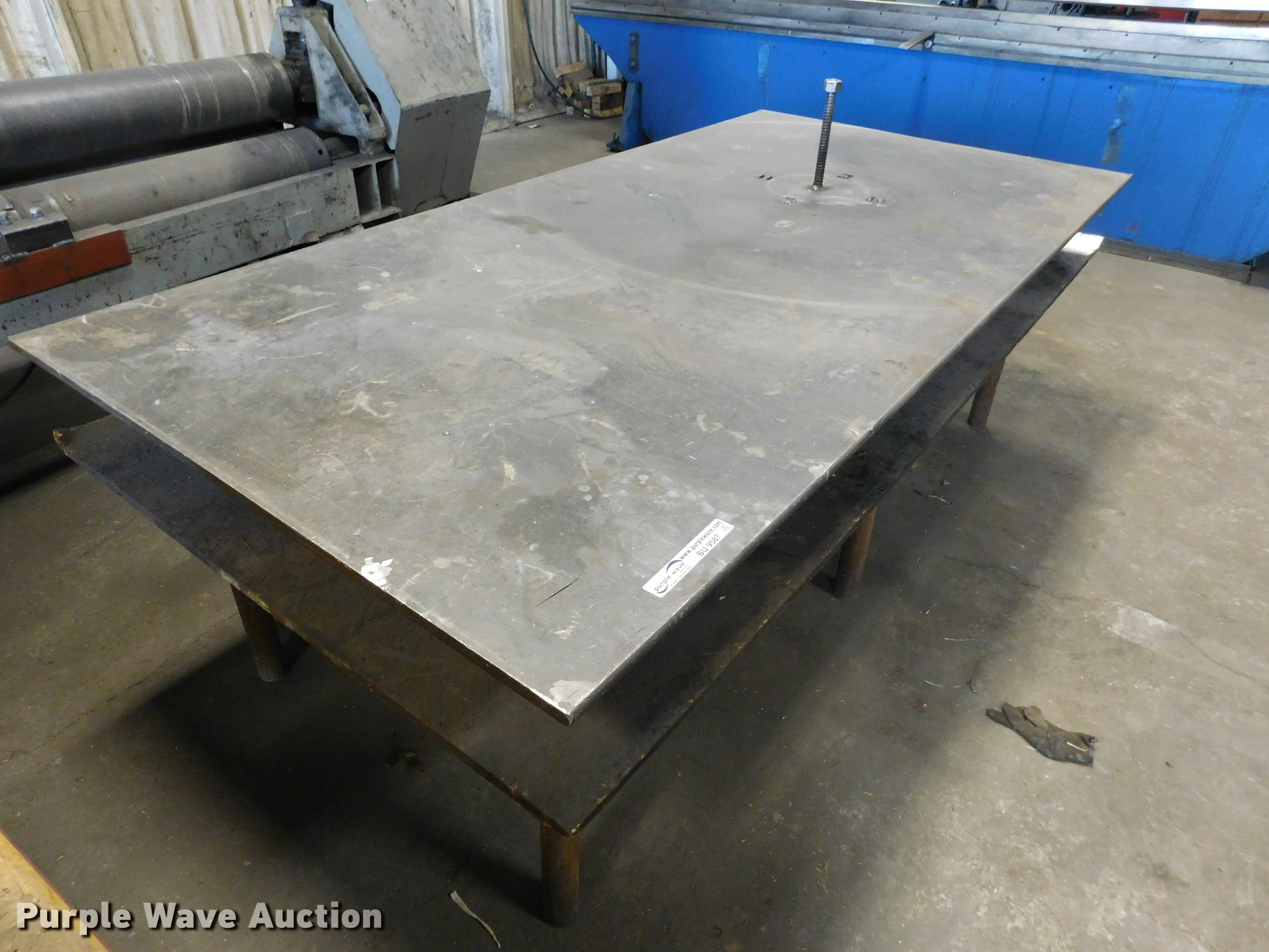 Welding Table For Sale >> Welding Table Item Bu9587 Sold January 24 Vehicles And