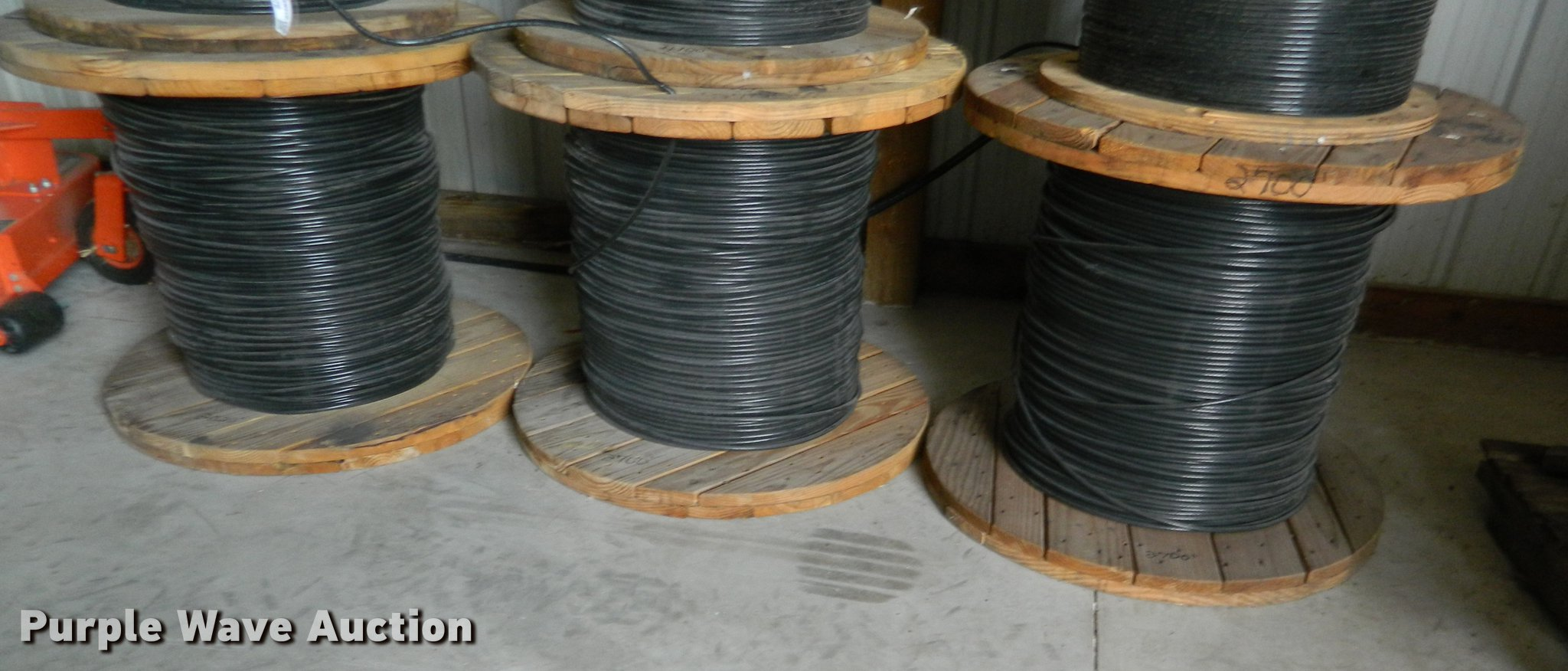 3) rolls of #2 copper wire | Item DB9979 | SOLD! January 24...