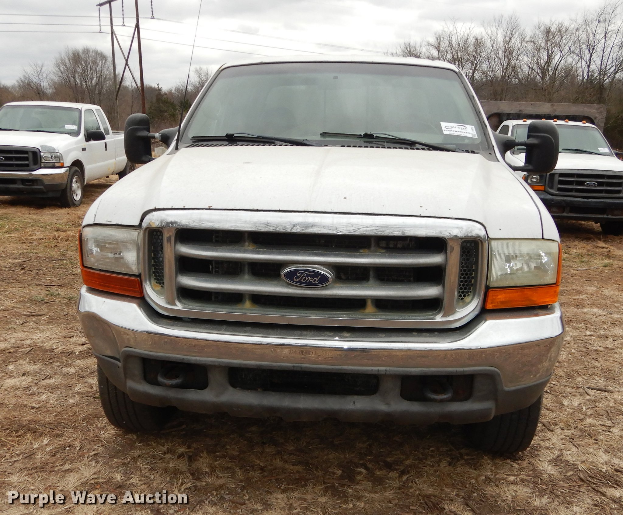 2000 Ford F250 Super Duty Xlt Crew Cab Pickup Truck Item J Full Size In New Window