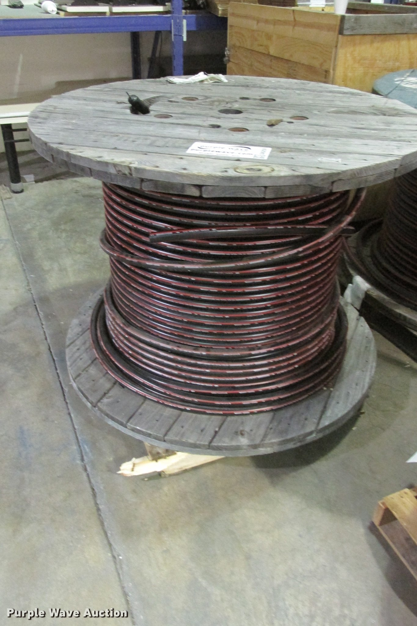 2) spools 1-0 AWG high voltage wire | Item DA5259 | SOLD! J...
