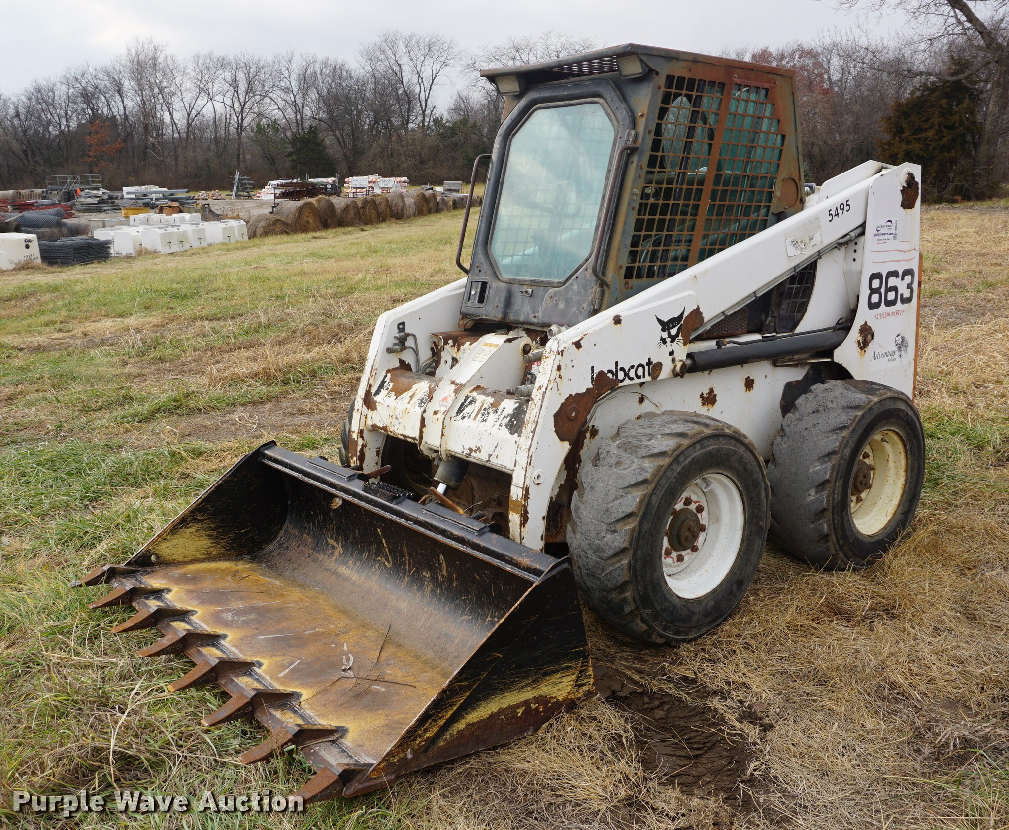 1999 Bobcat 863 skid steer | Item DB0328 | SOLD! January 25