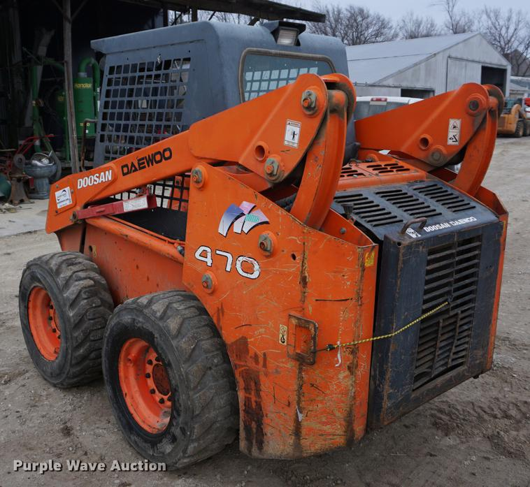 Doosan 470 Plus skid steer | Item DB0321 | SOLD! January 31