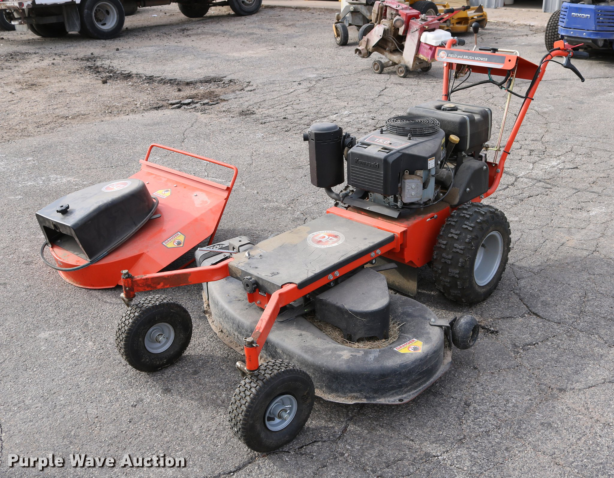 DR field and brush mower | Item EH9589 | SOLD! February 6 Go