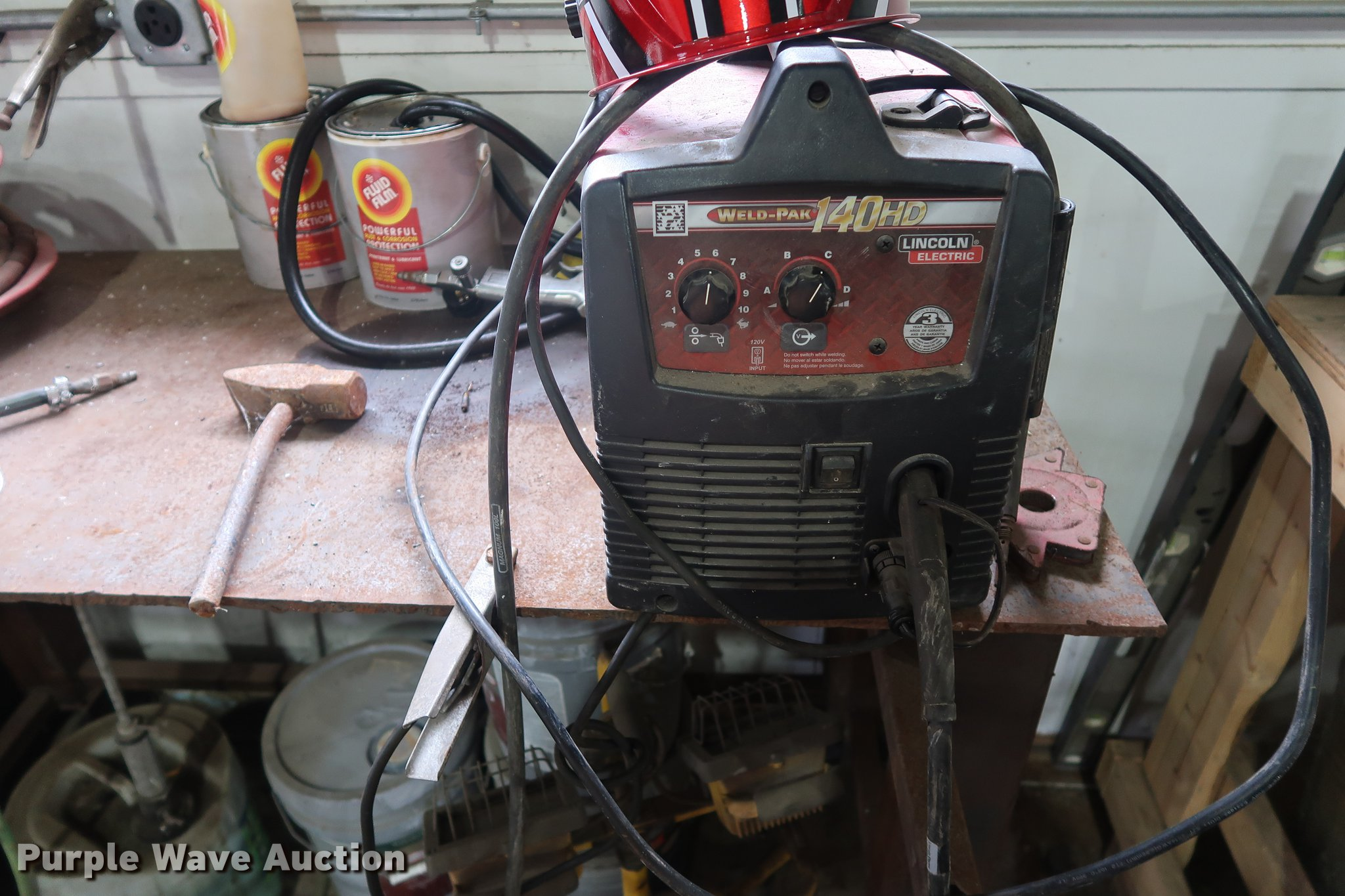 pak welder electric lincoln s auction in window mig full new item size weld