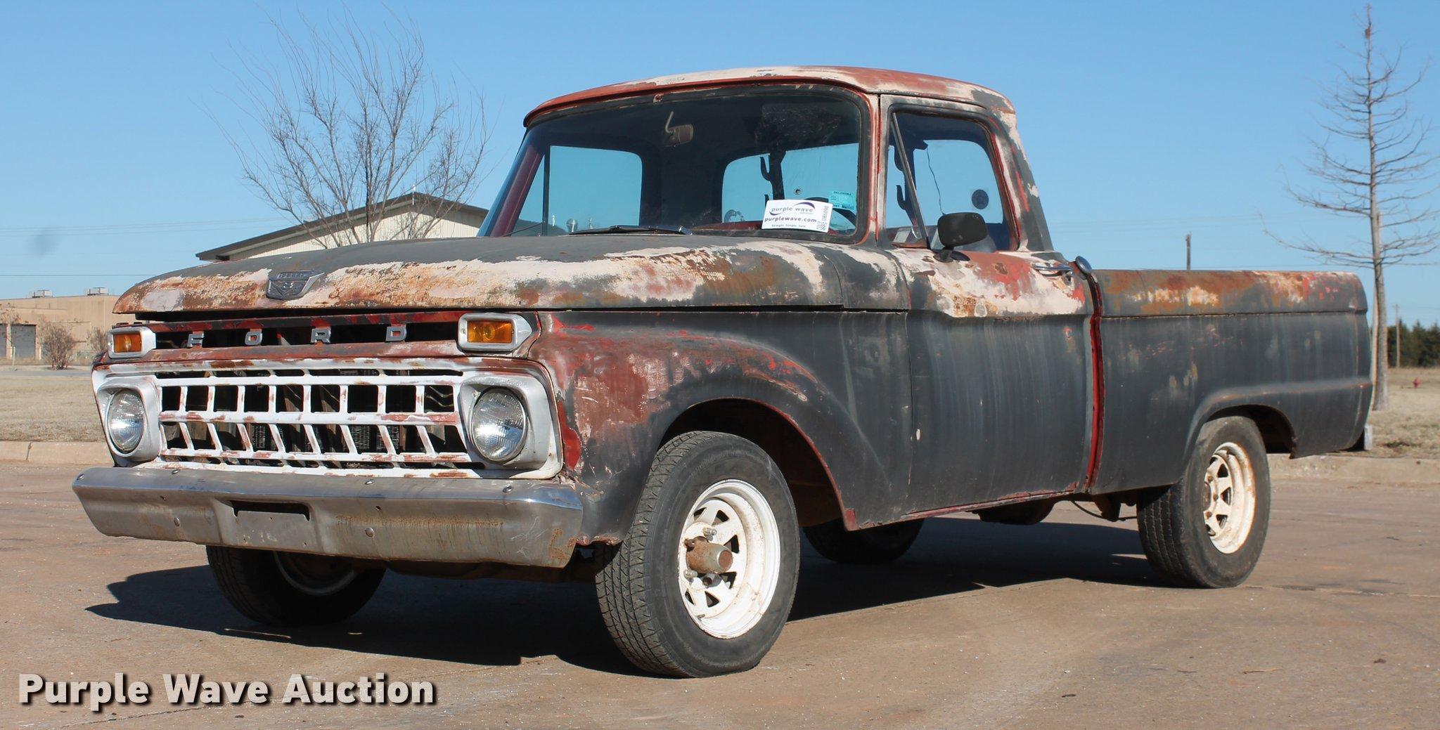 1965 Ford F100 pickup truck | Item DB5090 | SOLD! February 7