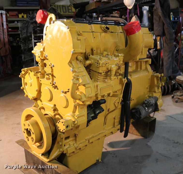 Caterpillar 3406 14 6L Turbo Diesel Engine Item EH9612 S