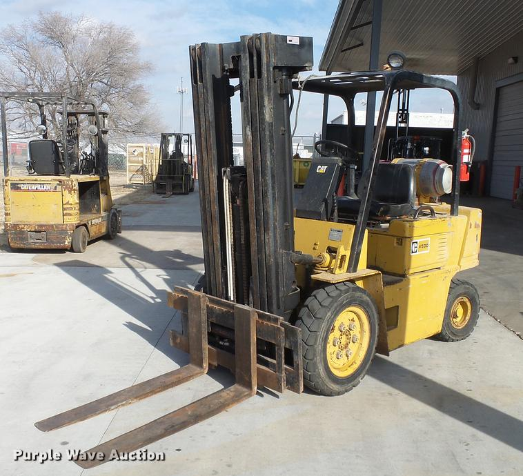 Caterpillar V50D forklift | Item DC0555 | SOLD! February 21