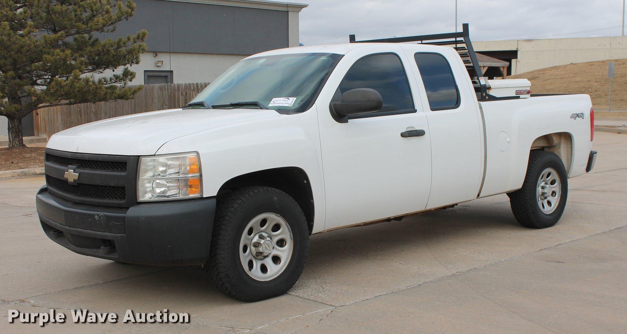 2007 Chevrolet Silverado 1500 Extended Cab >> 2007 Chevrolet Silverado 1500 Ext Cab Pickup Truck Item D