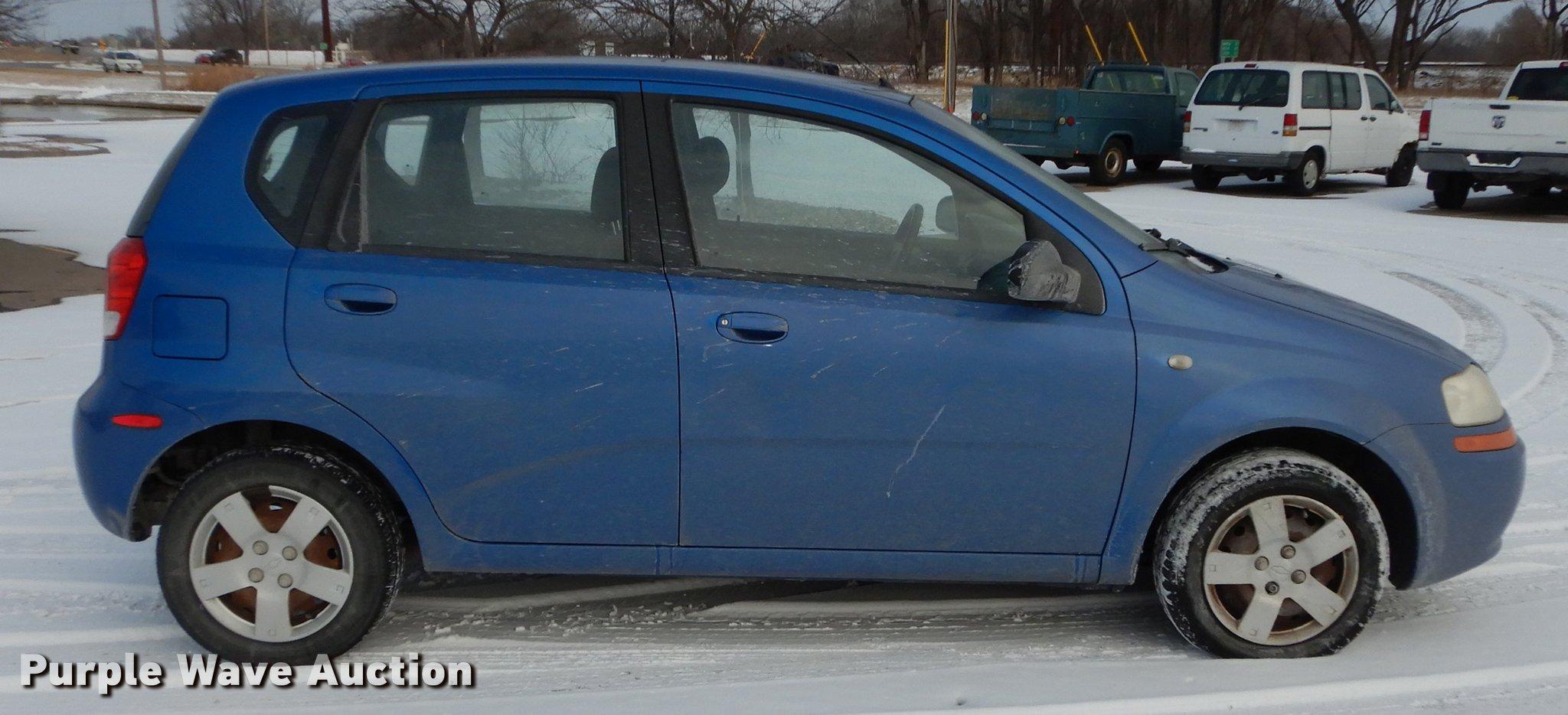 Chevrolet chevrolet 2006 aveo : 2006 Chevrolet Aveo LS   Item DC0253   SOLD! February 21 Veh...