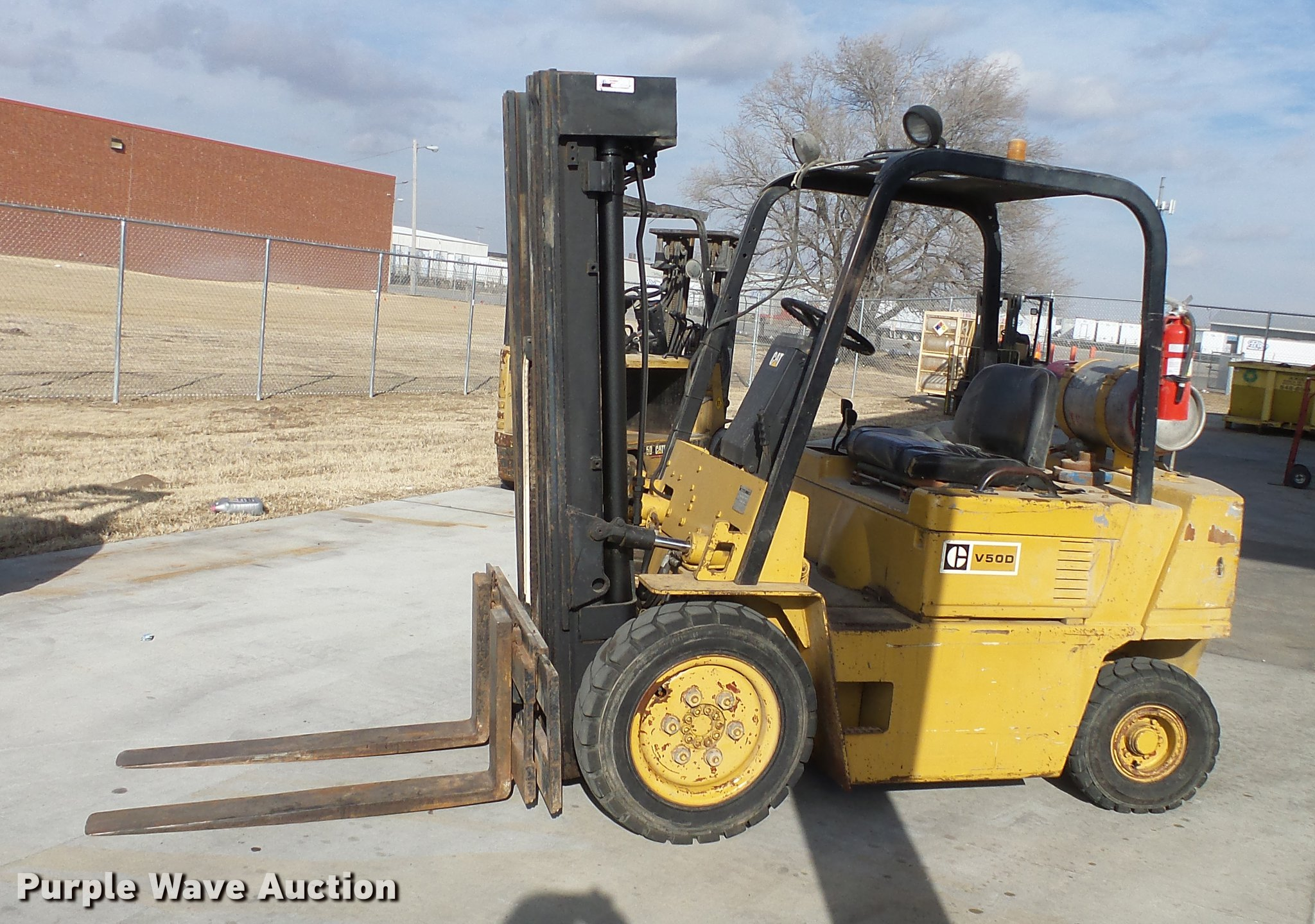 Caterpillar V50D forklift | Item DC0555 | SOLD! February 21 ... on electric forklift wiring diagram, caterpillar lift truck parts catalog, jungheinrich forklift wiring diagram, crown forklift wiring diagram, caterpillar hydraulic diagram, caterpillar forklift battery, caterpillar forklift parts, caterpillar forklift transmission, forklift controls diagram, caterpillar generator wiring diagram, caterpillar t50d forklift manual, caterpillar forklift wheels, machine controls network diagram, caterpillar forklift brake diagram, daewoo forklift wiring diagram, caterpillar forklift water pump, forklift schematic diagram, caterpillar forklift service, caterpillar forklift distributor, tcm forklift wiring diagram,