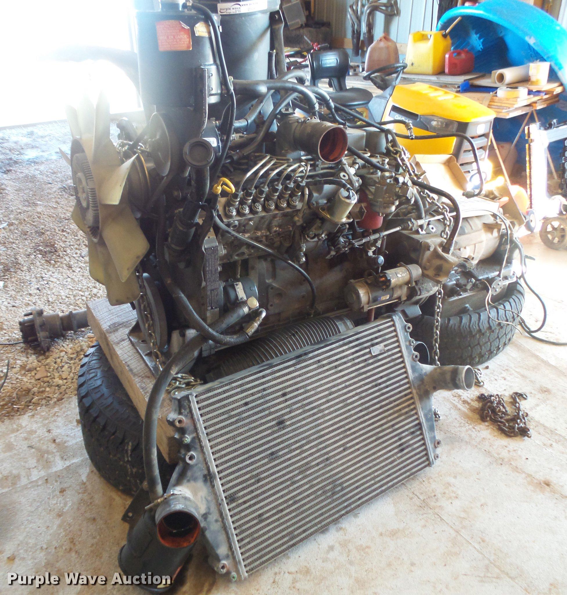 Cummins 5 9L L6 turbo sel engine Item DS9607