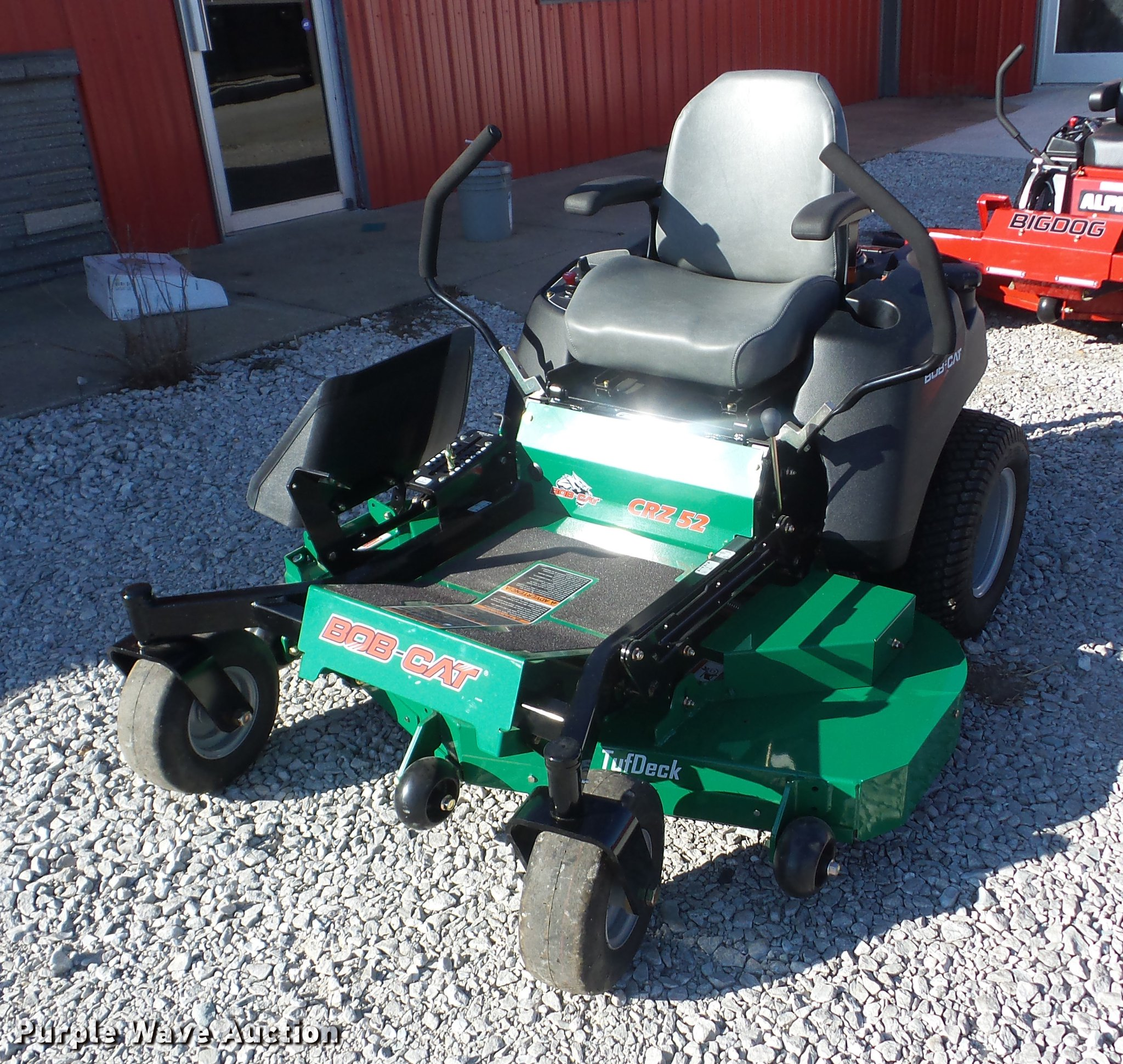 2017 Bobcat CRZ 52 lawn mower | Item EI9752 | SOLD! February