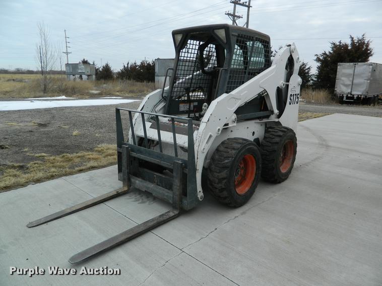 2007 Bobcat S175 skid steer | Item DB6645 | SOLD! February 2