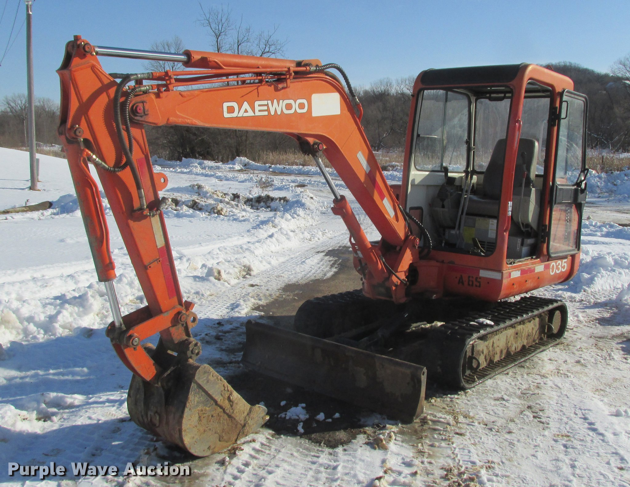 2000 Daewoo Solar 035 mini excavator | Item K6061 | SOLD! Fe...