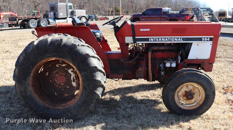 International 584 tractor | Item EC9408 | SOLD! February 28