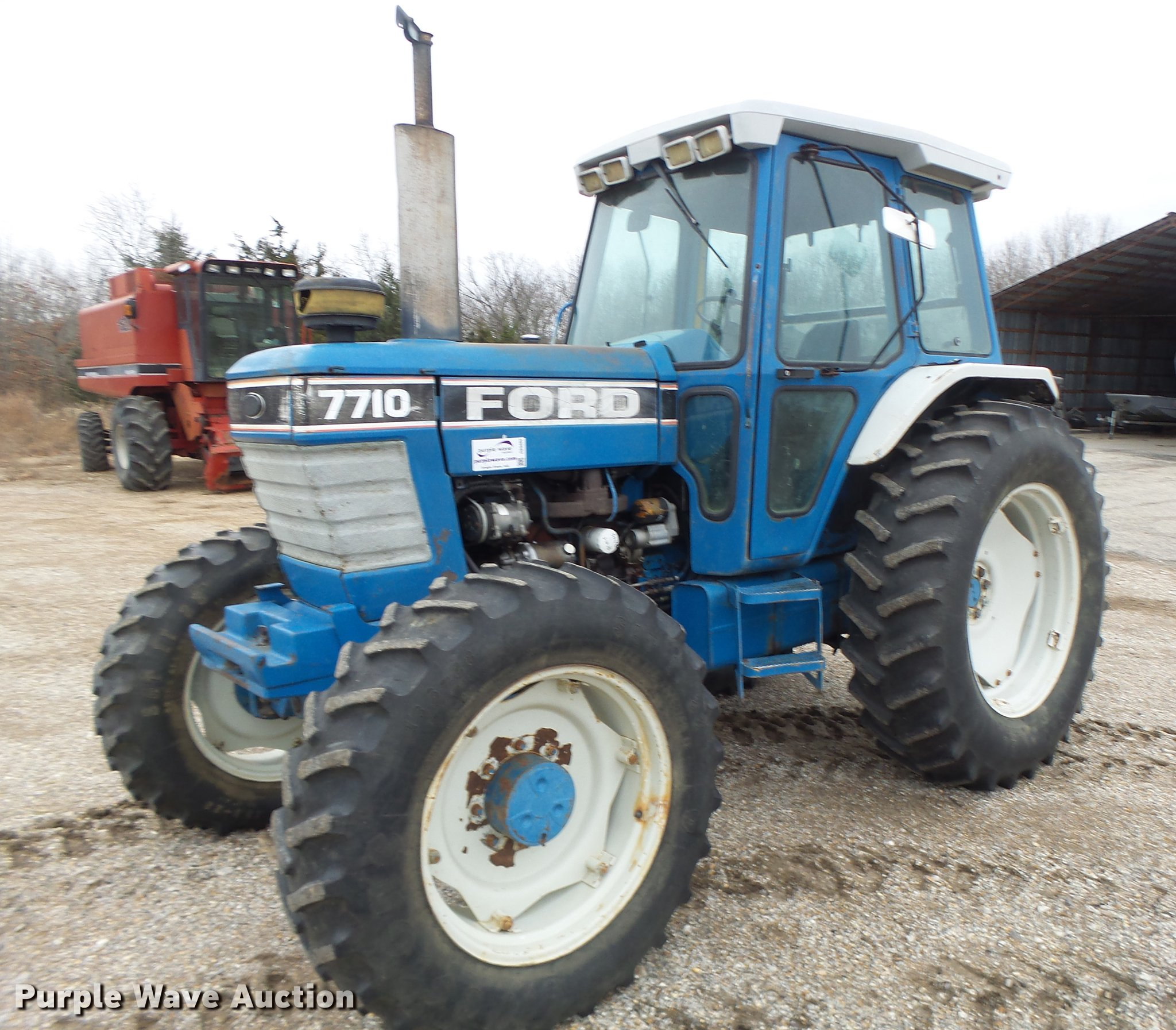 DB9802 image for item DB9802 Ford 7710 MFWD tractor