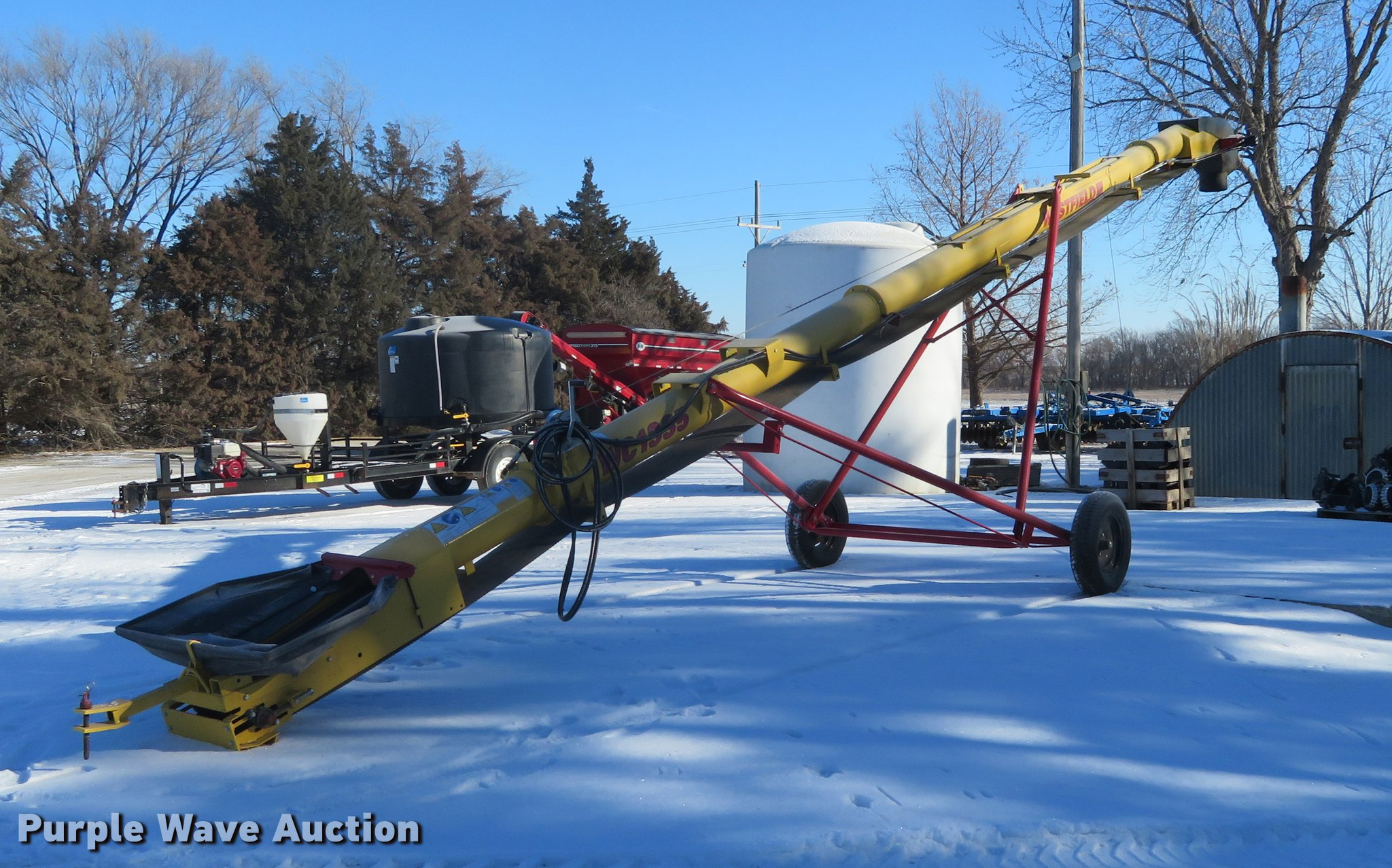 2017 Westfield WC1335 grain conveyor   Item DC0852   SOLD! F