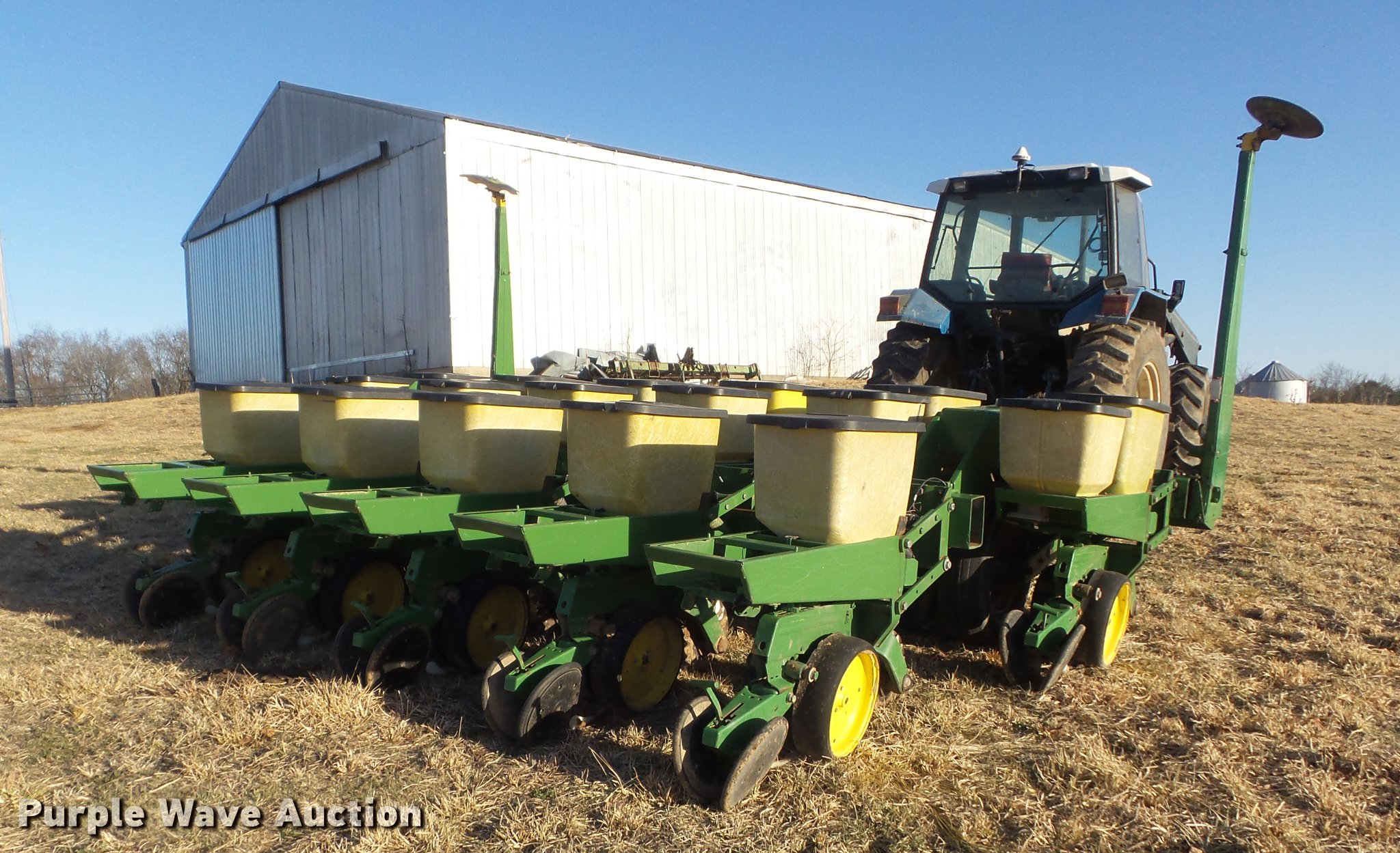 John Deere 7000 No Till Split Row Planter Item Dc7443 So