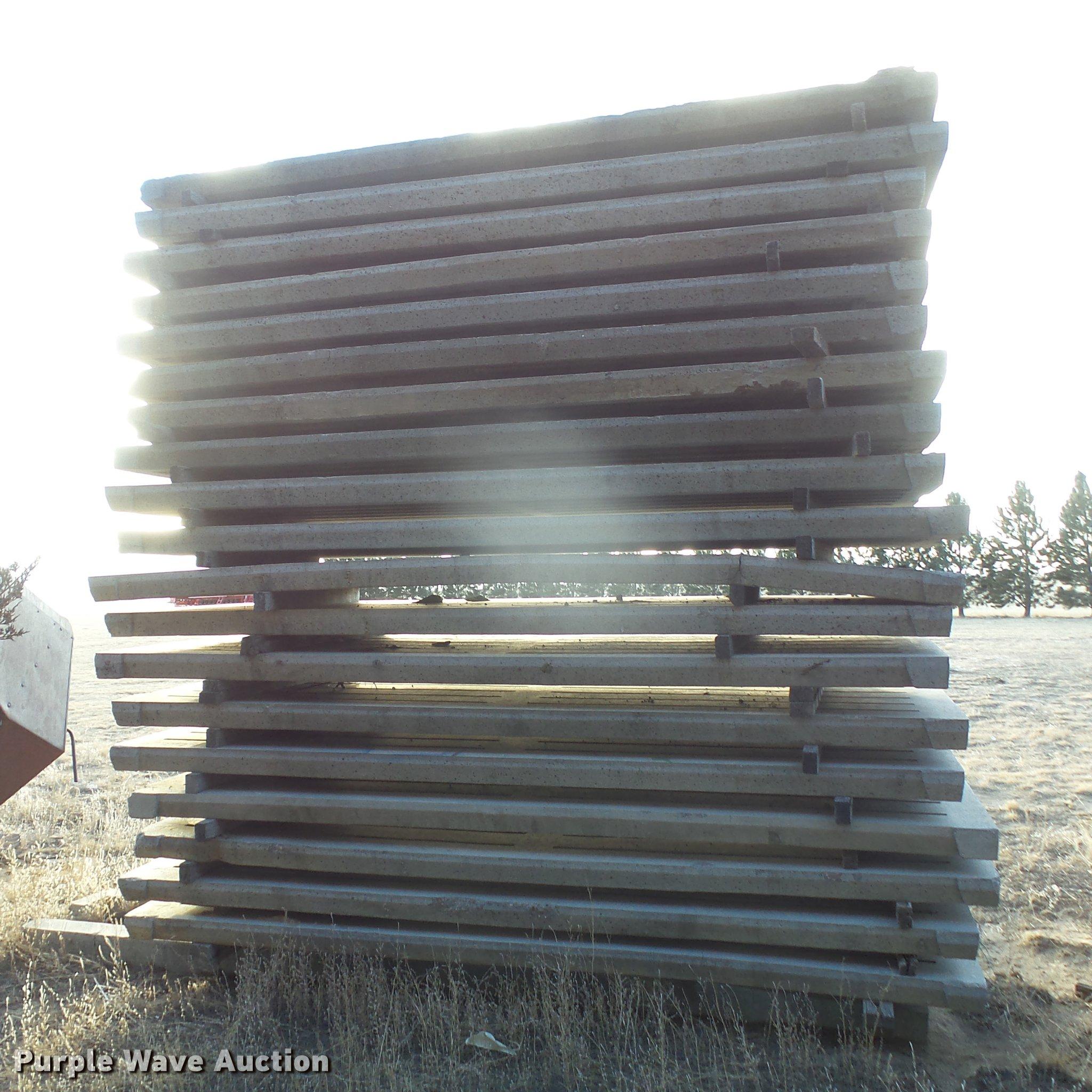 20) concrete hog slats | Item DC8337 | SOLD! February 28 Ag
