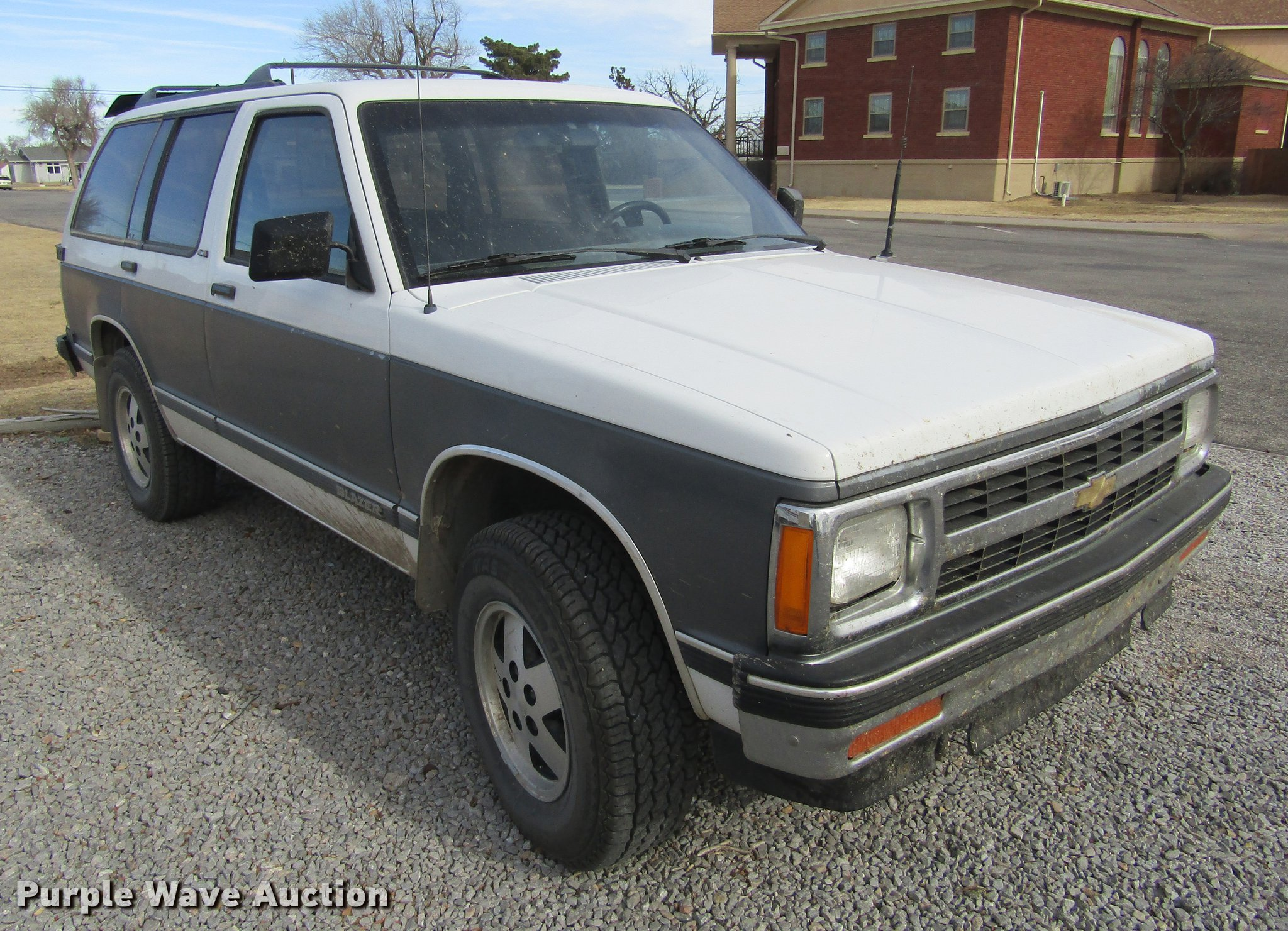 1991 Chevrolet S10 Blazer Suv Item Dc8285 Sold March 6