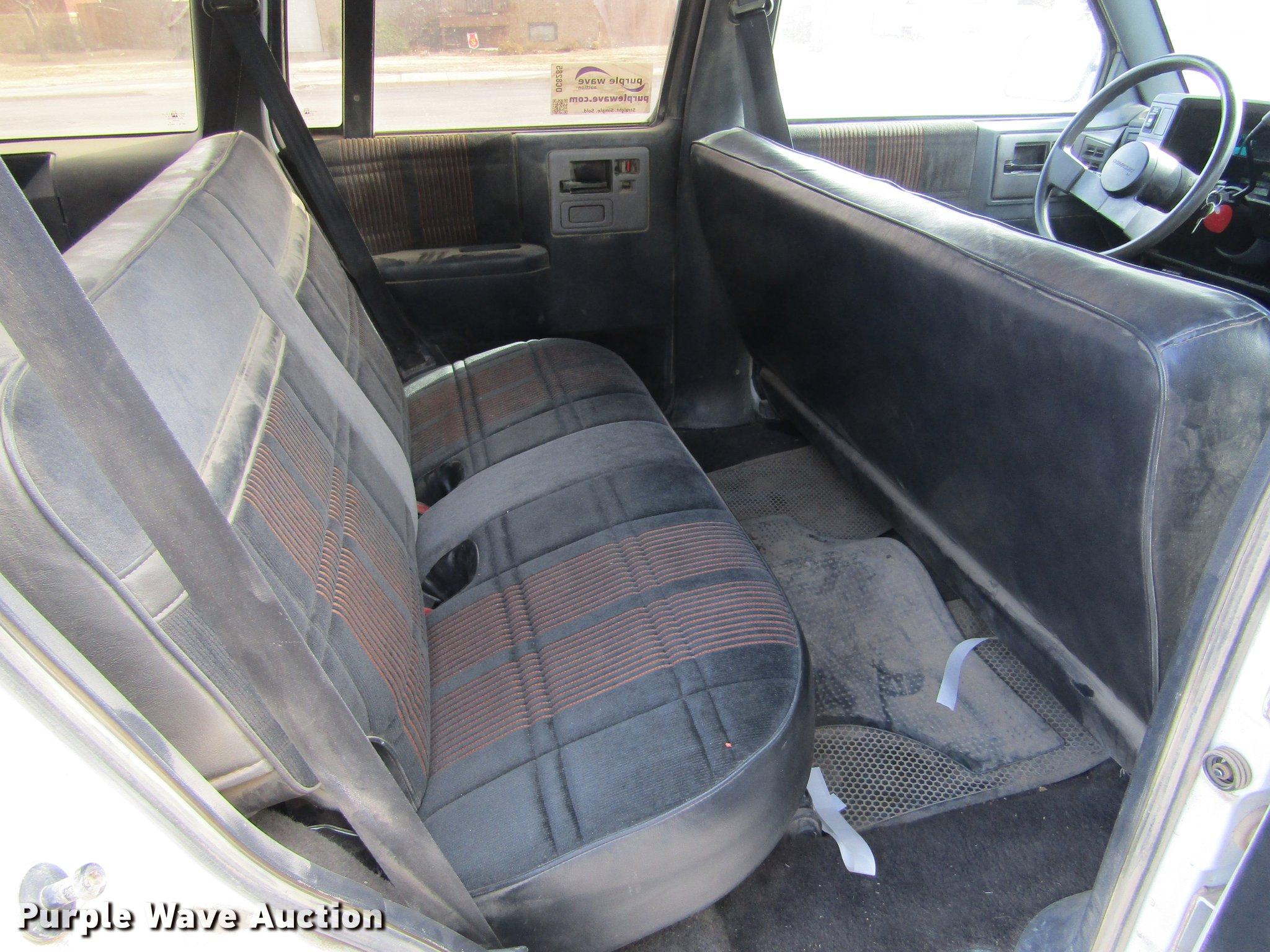 1991 Chevrolet S10 Blazer SUV   Item DC8285   SOLD! March 6