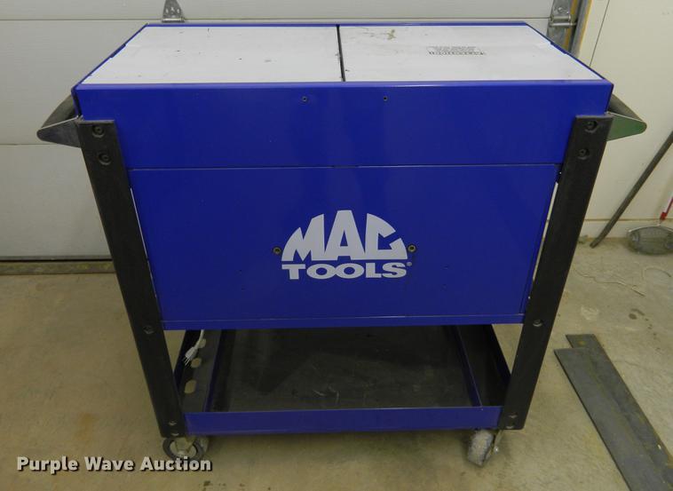 Mac Tools tool cart | Item BI9786 | SOLD! March 7 Vehicles a