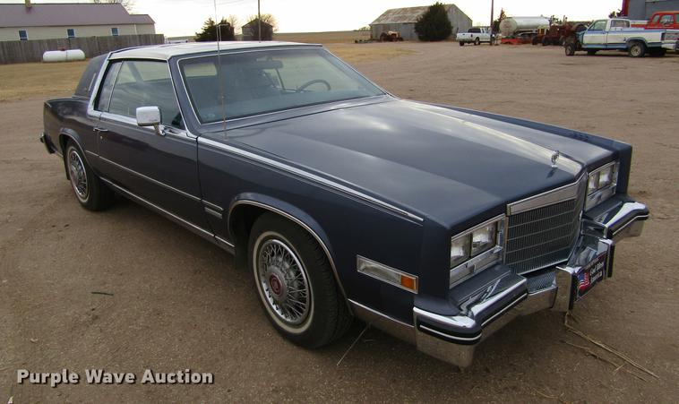 1983 cadillac eldorado biarritz in spearville ks item dc8281 sold purple wave 1983 cadillac eldorado biarritz in