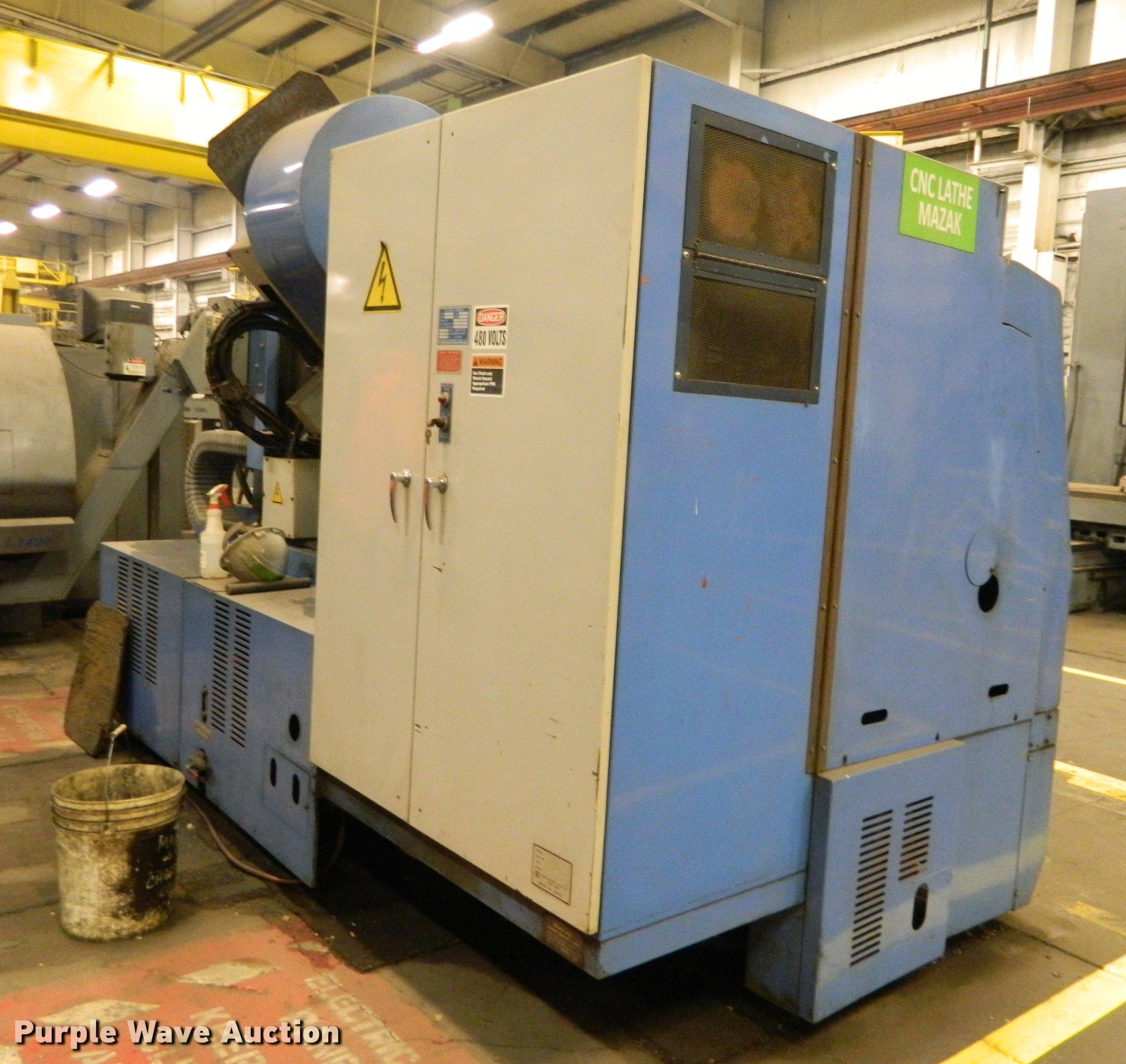 1985 Mazak ST25 ATCMC mill turn center   Item DB1235   SOLD!