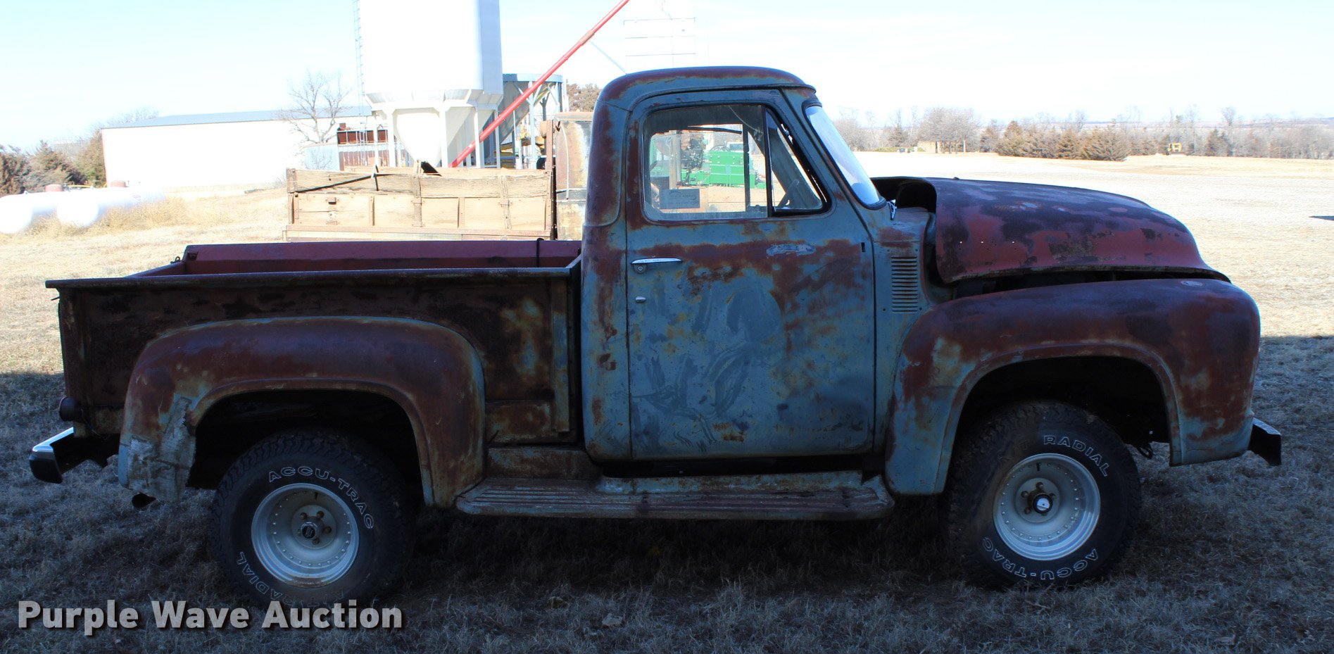 1954 Ford Pickup Truck Item Dc7718 Sold March 7 Vehicle Full Size In New Window
