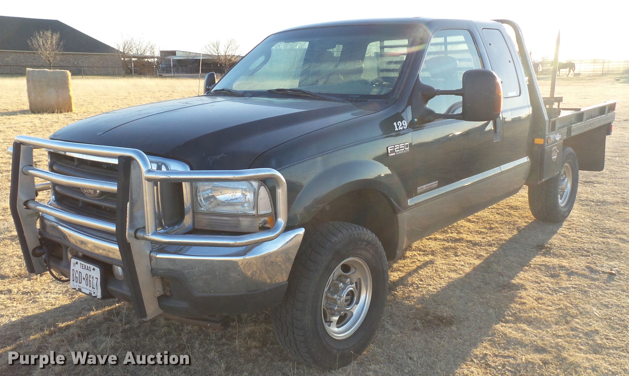 2004 Ford F250 Super Duty Supercab Bale Bed Pickup Truck I F 250 Ei9541 Image For Item