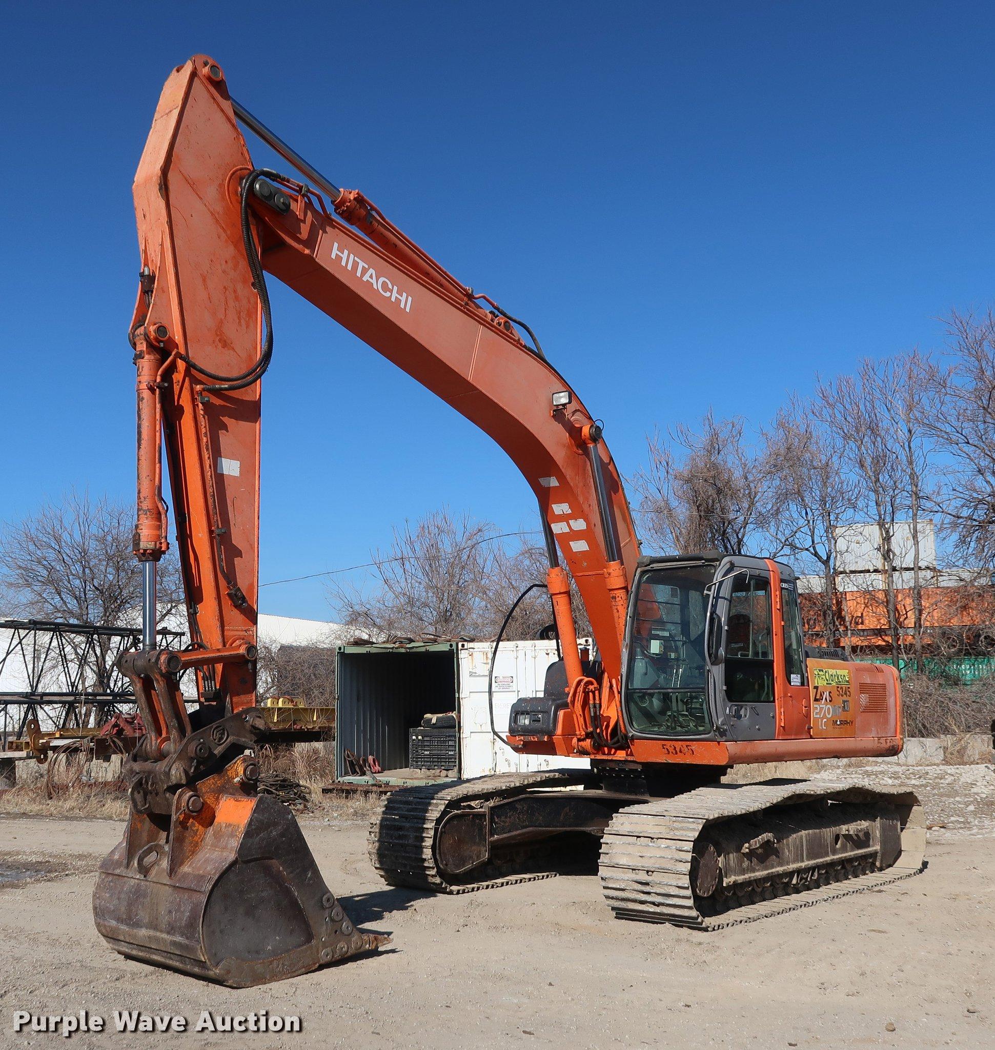 2006 Hitachi ZX270 LC excavator | Item DF3517 | SOLD! March