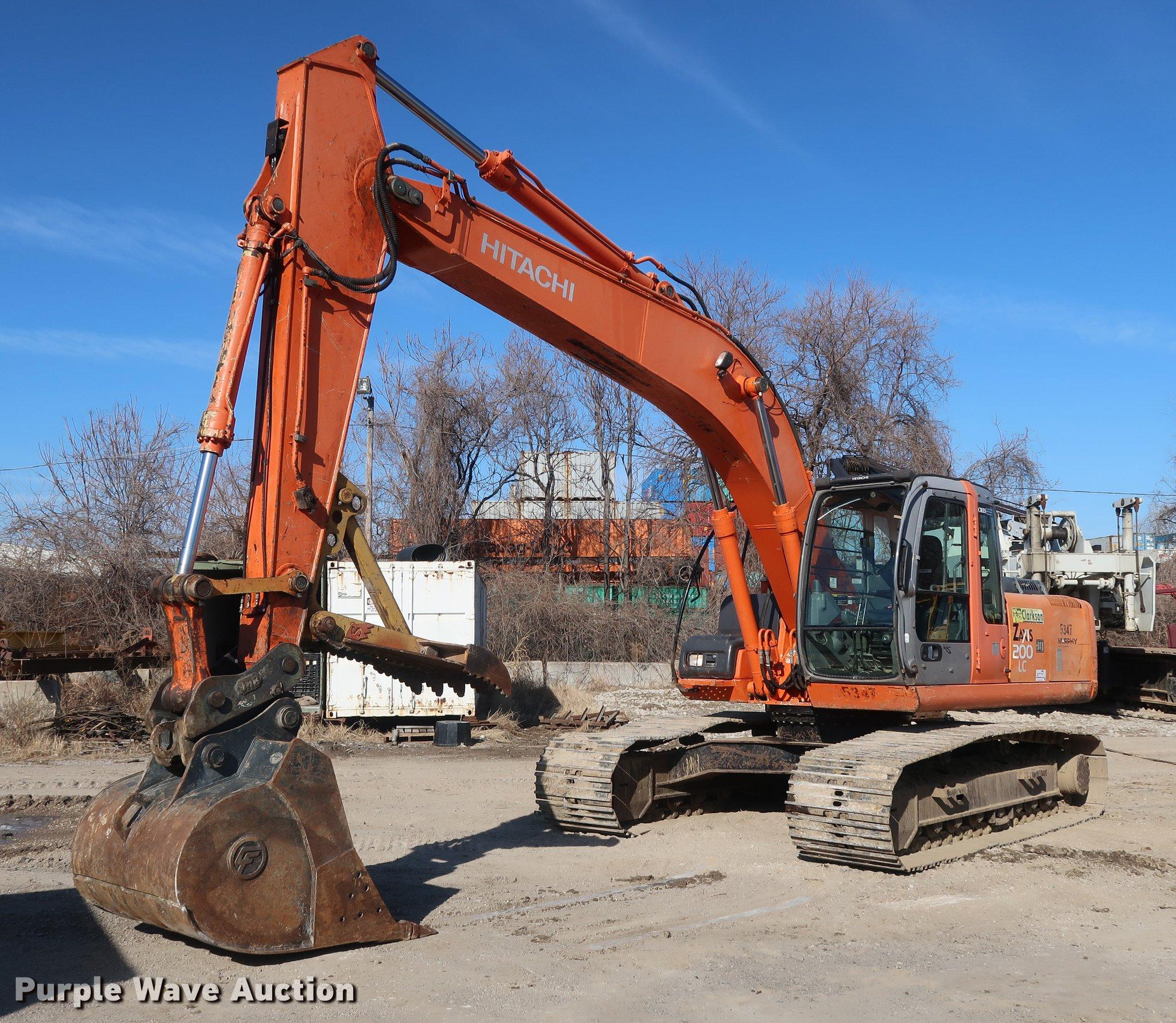 2006 Hitachi ZX200 LC excavator | Item DF3523 | SOLD! March